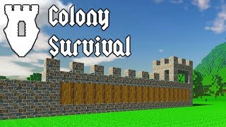 Colony Survival - Minecraft and Beyond - Let's Play Colony Survival Gameplay