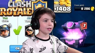 LEGENDARY TRADE - MAGICAL CHEST - Clash Royale