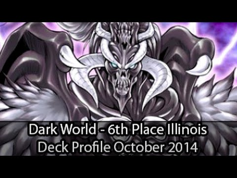 Dark World - 6th Place Tinley Park Illinois Jacob Marino - Yugioh Deck Profile October 2014 video