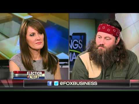 Duck Dynasty's Willie Robertson talks politics