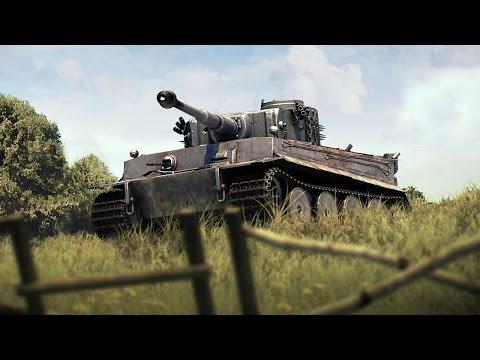 Лучшие места для засады - War Thunder. Обучение, часть 12. Танки
