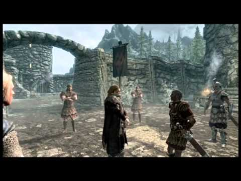 Let's Play The Elder Scrolls V: Skyrim P.1 A New Journey