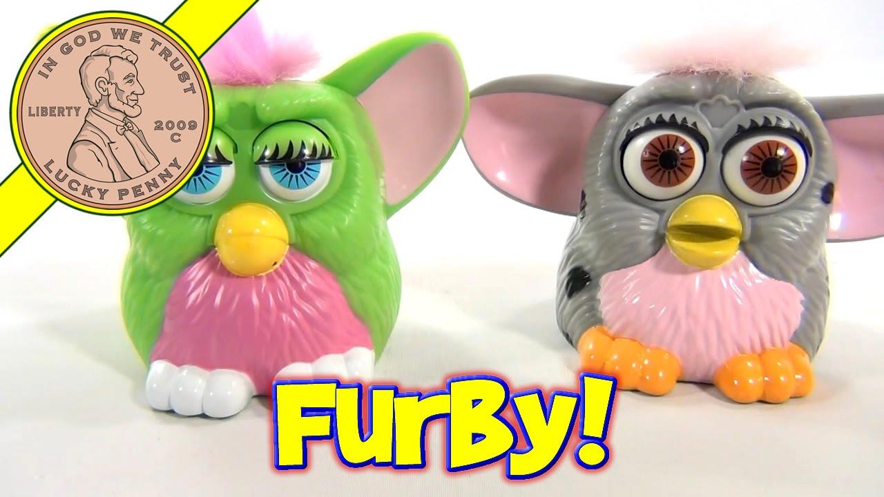 1998 Furby McDonald's Happy Meal Toys - Green and Gray ...
