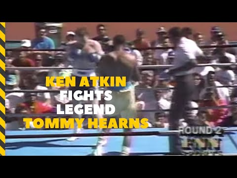 Boxing|Tommy &quot;Hit Man&quot; Hearns vs Ken &quot;The Bull&quot; Atkin with Kerry Pharr