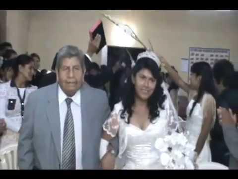 ENTRADA DEL CORTEJO NUPCIAL -MATRIMONIO CRISTIANO - IEPP SANTIAGO - ICA - PERÚ