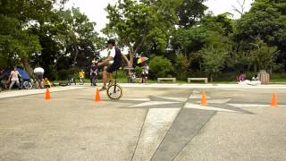精踩絕輪 Unicycle (93-1) 2012 M.S. Unicycling Summer 獨輪車民雄之旅 Day 1