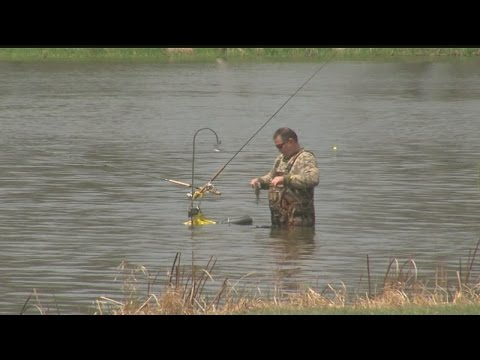 Anglers take advantage of free fishing weekend