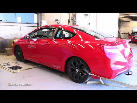 2012 Civic Si Skunk2 MegaPower RR Exhaust Dyno and Sound clip