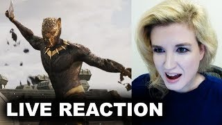Black Panther Trailer REACTION