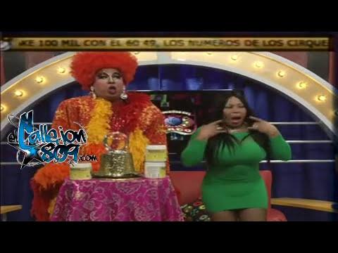 La Pitonisa Manosea Por to lo Lao a Yanira la Exclusiva En Pleno Programa Hasta el Vestido le Sube