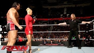 Rusev and Lana confront