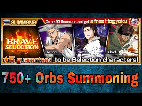 Bleach Brave Souls - Brave Selection Summoning