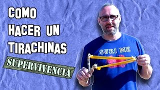 ✔ Cómo Hacer un Tirachinas de Supervivencia | How to Make a Survival Slingshot