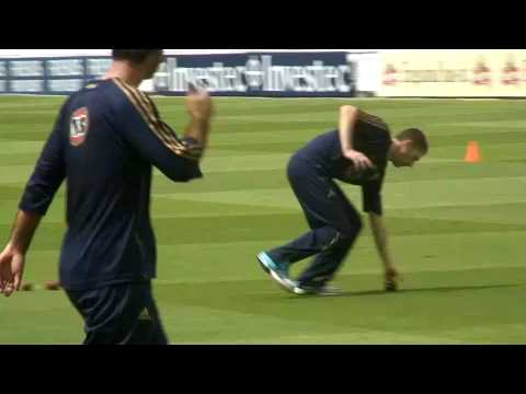 Training Day with Michael Clarke - Ashes 2009