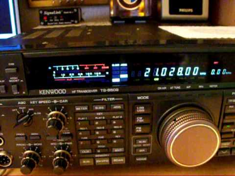 Kenwood ts 850  test  DRU2 - VS2 - - CW - N - Filter