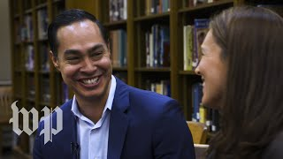 "Presidential candidate Julián Castro: ""You can look this bad in high school and still go places"""