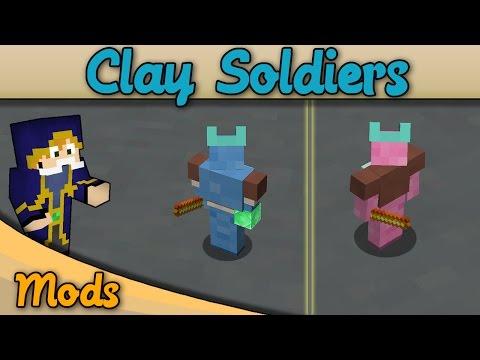 Minecraft Clay Soldier Mod BATTLE ROYALE