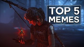 Top 5 Memes - Rise of the Tomb Raider