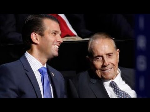 Bob Dole: The world is a mess, Trump can fix it