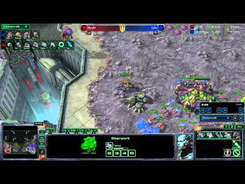 SeKo Starcraft - ByuN vs Life - Pro SC2 HOTS Replay WCS Korea Season 2
