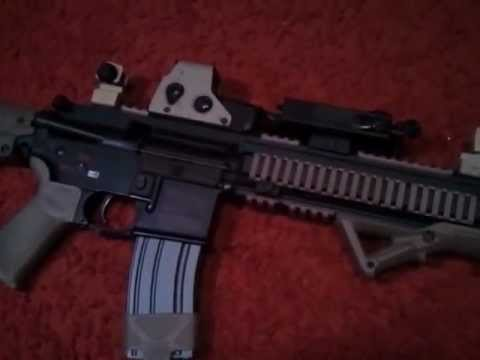 Custom Airsoft VFC HK416 Review