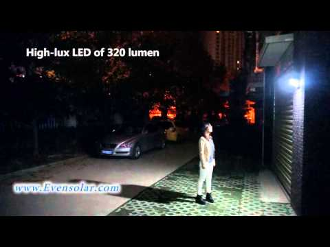 High lumen Solar Motion Sensor Security Light:SL-1140