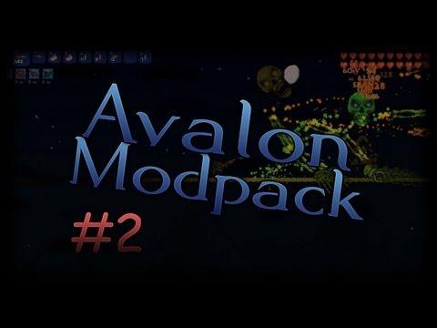 Terraria Avalon Mod - 2 - New Dungeon Items - Adventure!
