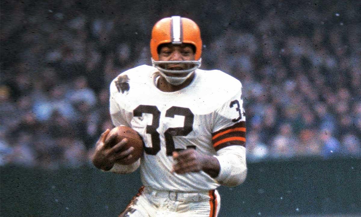 NFL Legends: Jim Brown...