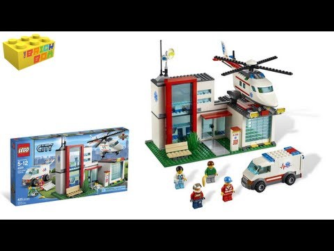 Lego City Helicopter Rescue 4429 Review