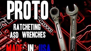 Proto ASD Ratcheting Spline Combination Wrenches - MADE IN USA