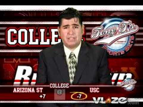 Arizona St Sun Devils @ USC Trojans Saturday College ...