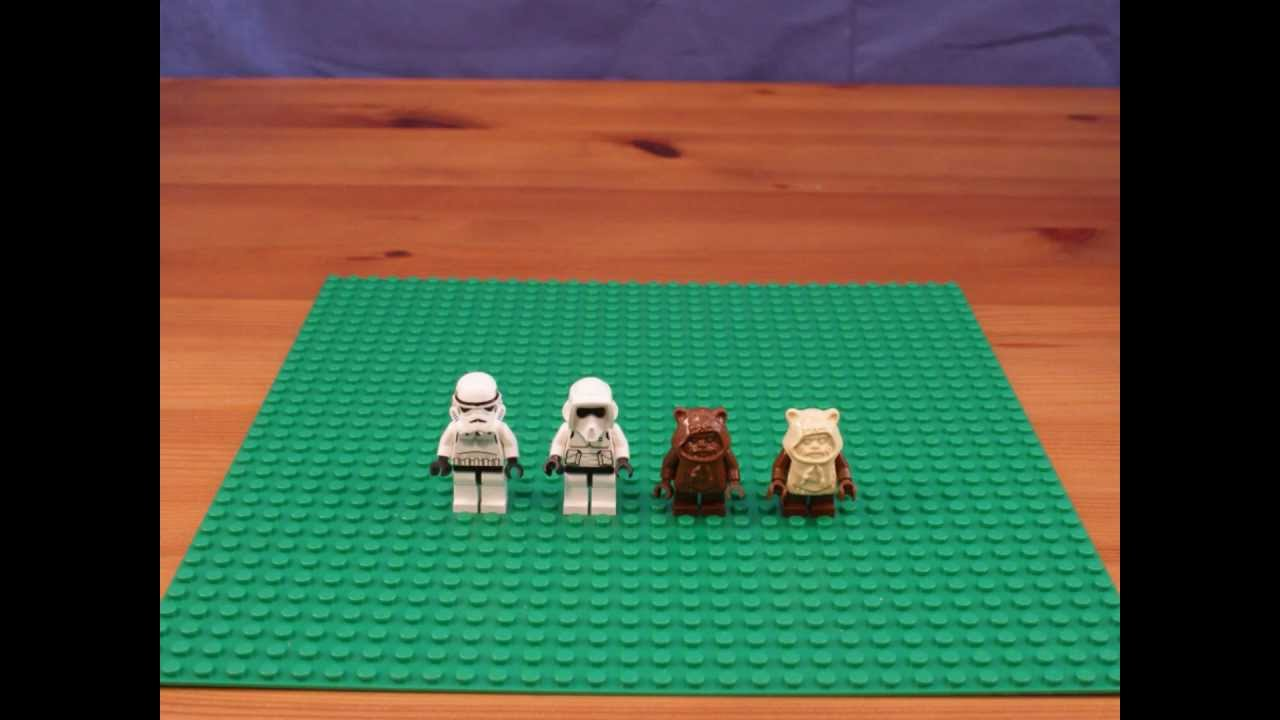 lego ewok attack 7139 instructions