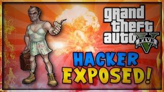 GTA 5 Online - ANNOYING HACKER TRIES TO TROLL ME