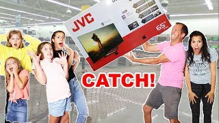 I will BUY anything YOU CAN CATCH!!   Parent Swap TWIST!