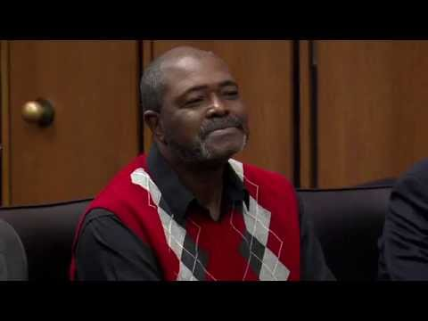 Watch emotional moment man is exonerated after 27 years in prison
