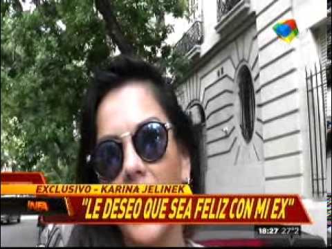 Karina Jelinek apoya a la novia de Leo Fariña
