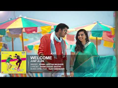 Welcome Hearty Welcome Full Song (Audio) | Jump Jilani (Telugu...