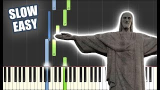 In Christ Alone | SLOW EASY PIANO TUTORIAL by Betacustic