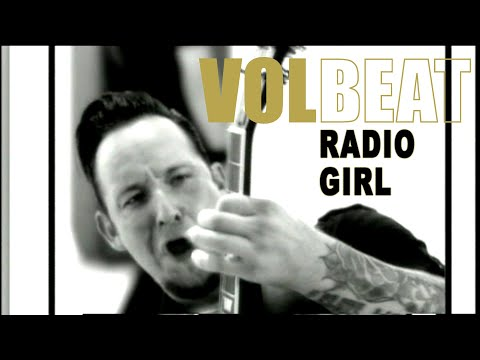 VOLBEAT &quot;Radio Girl&quot; Video of Rock The Rebel/Metal The Devil