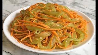Потрясающе ЖАРЕНЫЕ ОГУРЦЫ С МОРКОВЬЮ Отличная Закуска!!! / Салат из Огурцов / Fried Cucumbers