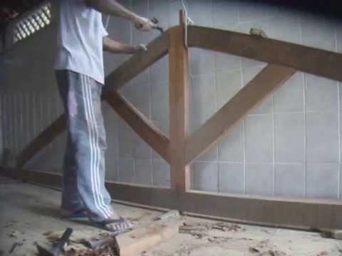Como fazer tesoura para telhado