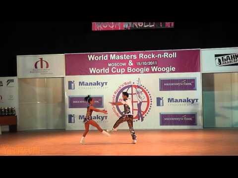 Jacek Tarczylo & Anna Miadzielec - World Masters Moskau 2011