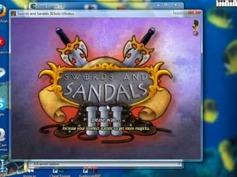 Swords and Sandals 3 Level Hack /CE
