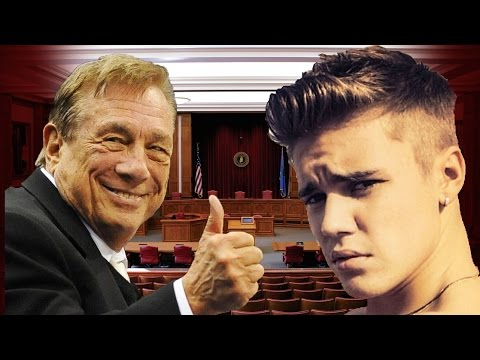 Donald Sterling + Justin Bieber Go To Court Analysis with Robin Sax