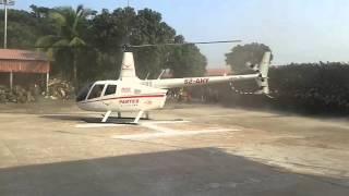 Helicopter Takeoff From Narayangonj,Dhaka,Bangladesh