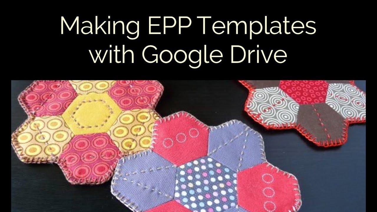 English paper piecing templates uk