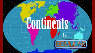 Bemular - Continents (Educational Kids Music & Video)