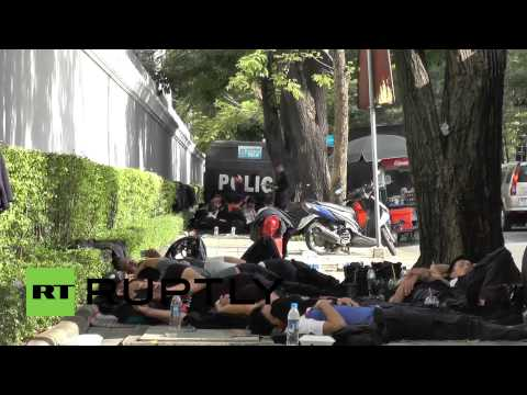Thailand: Police relax despite protest threat at National Assembly