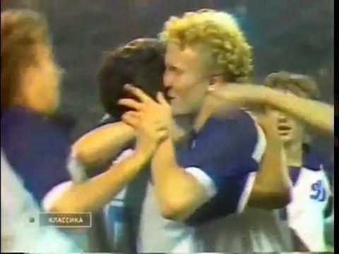 Динамо Киев - Утрехт. КОК-1985/86 (4-1)