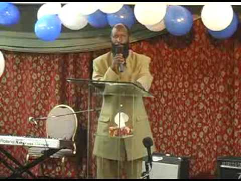 Prophet Dr David Owuor in Toronto (18 sept 2008) pt.1